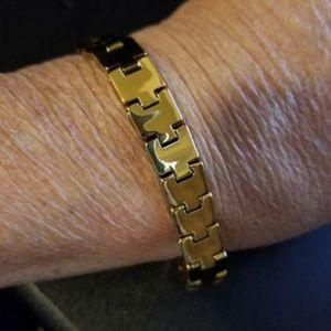 Other - 14K Gold Filled Solid Link Bracelet
